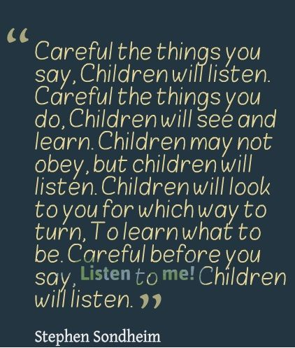 "Children will listen...Stephen Sondheim ""Into the Woods"""