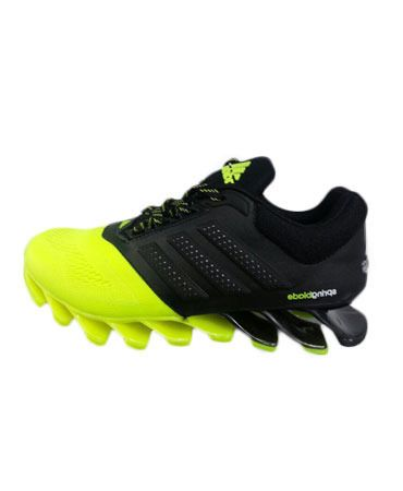 Adidas Neon Black Sports Shoes For Man size 8