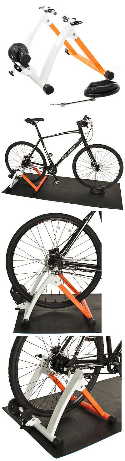 Trainers and Rollers 36141: Conquer Indoor Bike Trainer Portable Exercise Bicycle Magnetic Stand -> BUY IT NOW ONLY: $69.95 on eBay!