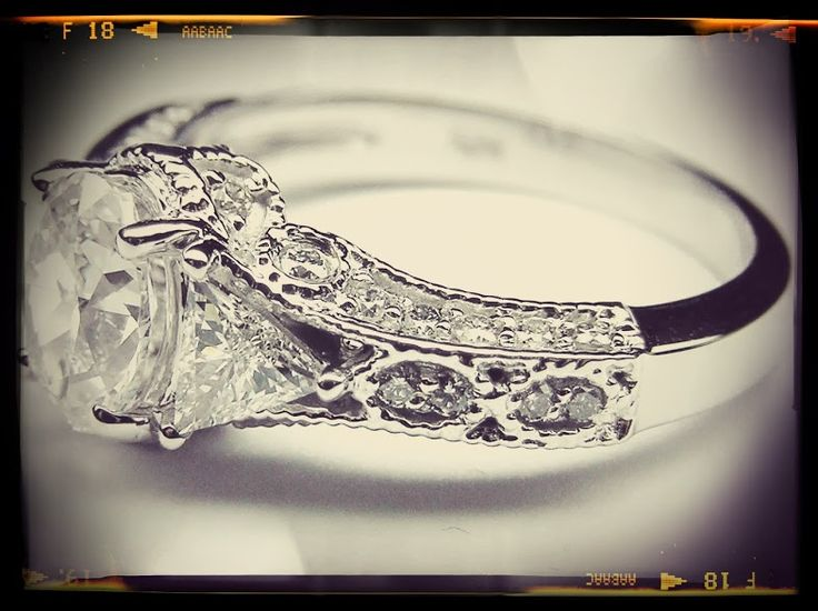 Vintage Oval Diamond Engagement Ring Engagement rings