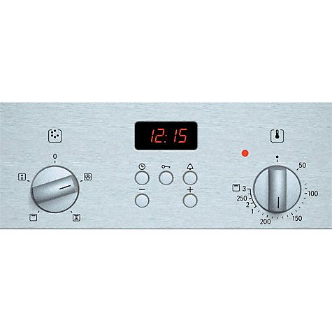 Buy Bosch HBN331E2B Single Electric Oven, Brushed Steel Online at johnlewis.com