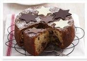 Aussie chocolate Christmas cake