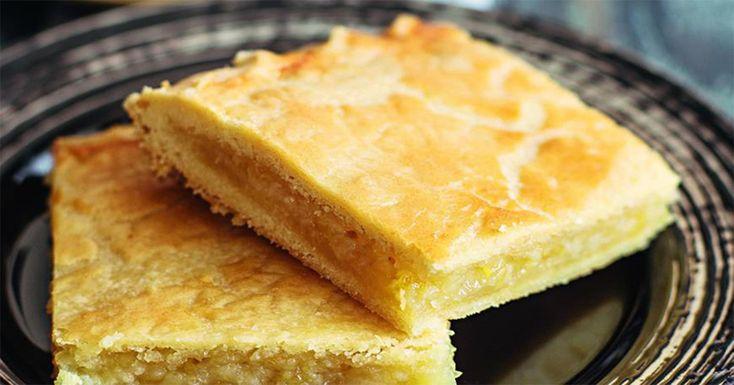 prăjiturăcu umplutură de lămâie.