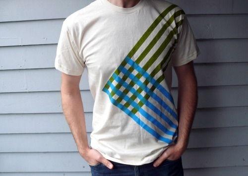 Geometric freezer paint shirts