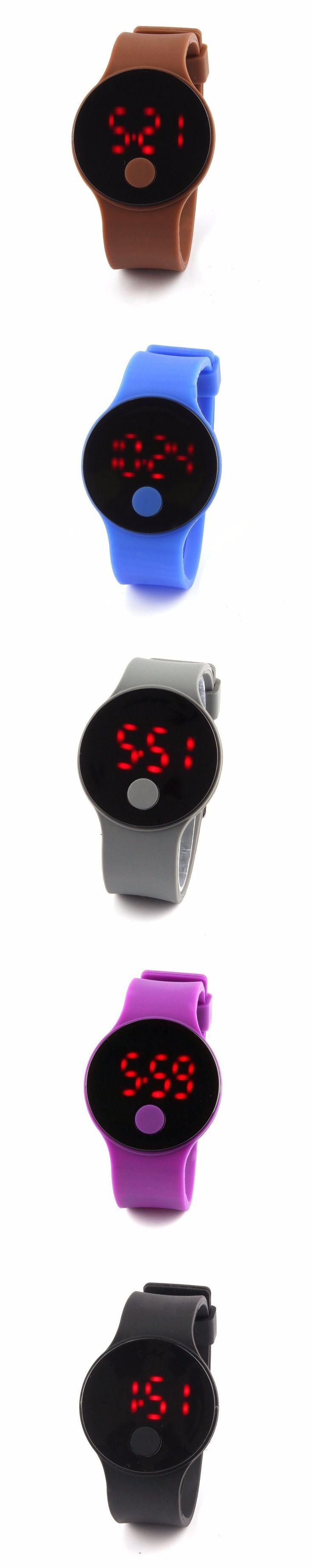 2017 Hot fashion digital watch design LED Watch Men Women Cheap silicone Electronic Digital sport wristwatch relogio masculino