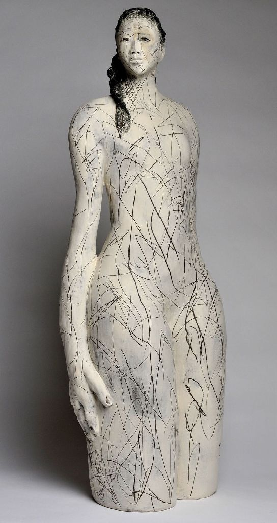 Ann Goodfellow- Ceramic sculpture all done by touch