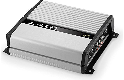 JL Audio JX400/4D 4-channel car amplifier - 70 watts RMS x 4. RMS Power Rating (14.4V): 4 ohms: 70 watts x 4 chan.   2 ohms: 100 watts x 4 chan.   Bridged, 4 ohms: 200 watts x 2 chan. RMS Power Rating (12.5V): 4 ohms: 50 watts x 4 chan.   2 ohms: 80 watts x 4 chan.   Bridged, 4 ohms: 160 watts x 2 chan. Input sensitivity: Low level input: 200mV - 4V   High level input: 2.0mV - 10.0V. 3-way protection circuitry (thermal, overload, and speaker short protection). Fuse Rating: 40A x 1 inline...