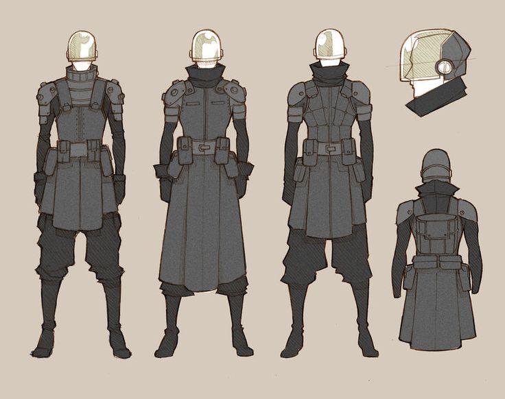 Soldiers Standard - concept by MizaelTengu.deviantart.com on @deviantART  Anti Droid Agents?