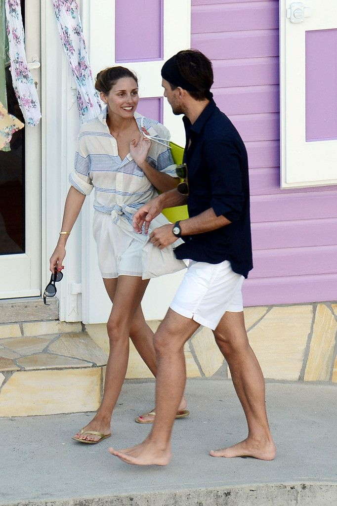 Olivia Palermo and Johannes Huebl on Vacation