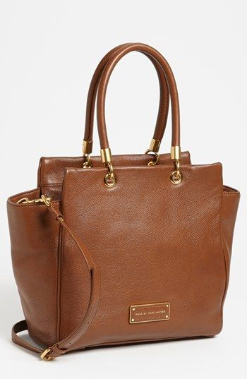 MARC BY MARC JACOBS 'Too Hot To Handle - Bentley' Leather Tote available at #Nordstrom - in black