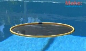 hula hoop pool heater