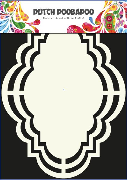 470.713.110 Dutch Doobadoo Shape Art Romantic 1 st.