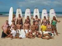 Surfen lernen in Portugal - Surfcamp an der Algarve.