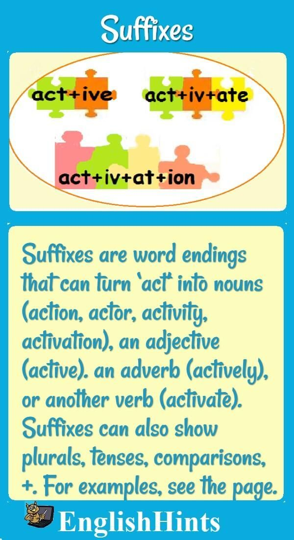 Another Word For To Do List Alluring List Of Suffixes More Than 45 Word Ending Clues  How To Study .