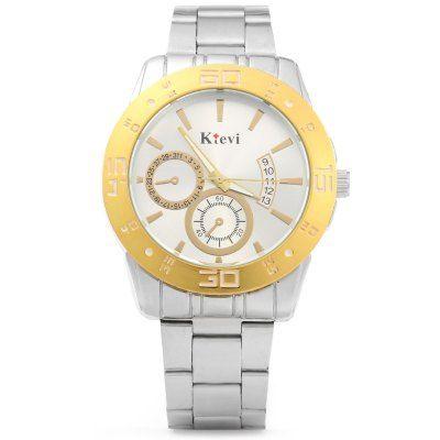Ktevi K8008M Decorative Date Men Japan Quartz Watch #jewelry, #women, #men, #hats, #watches, #belts