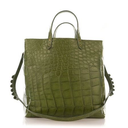 Fedra bag Limited edition big size color green