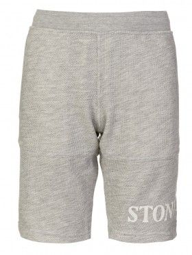 Stone Island Junior Light Grey Marl Sweat Shorts