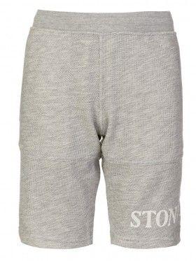 Stone Island Junior Light Grey Marl Sweat Shorts