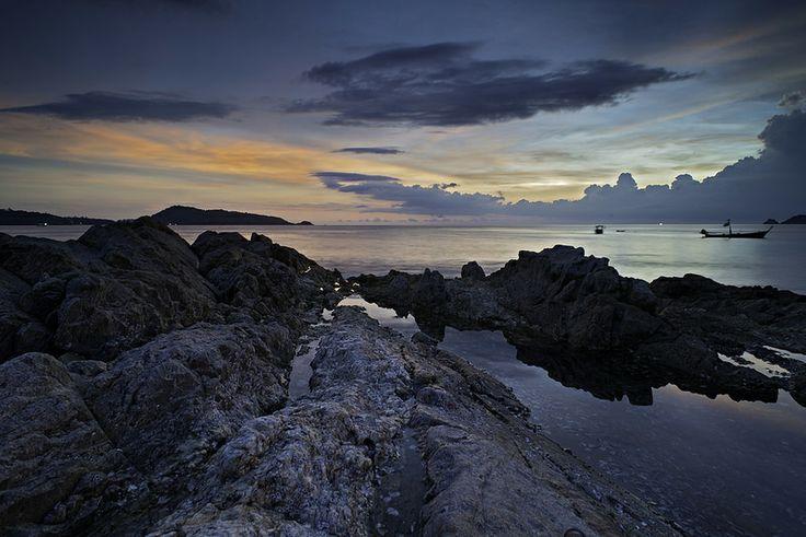 Rocky Outcrop Kalim Beach Phuket