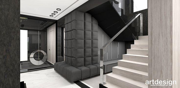 RETURN TO THE SOURCE | W2 | Wnętrze domu | Projekt holu i schodów
