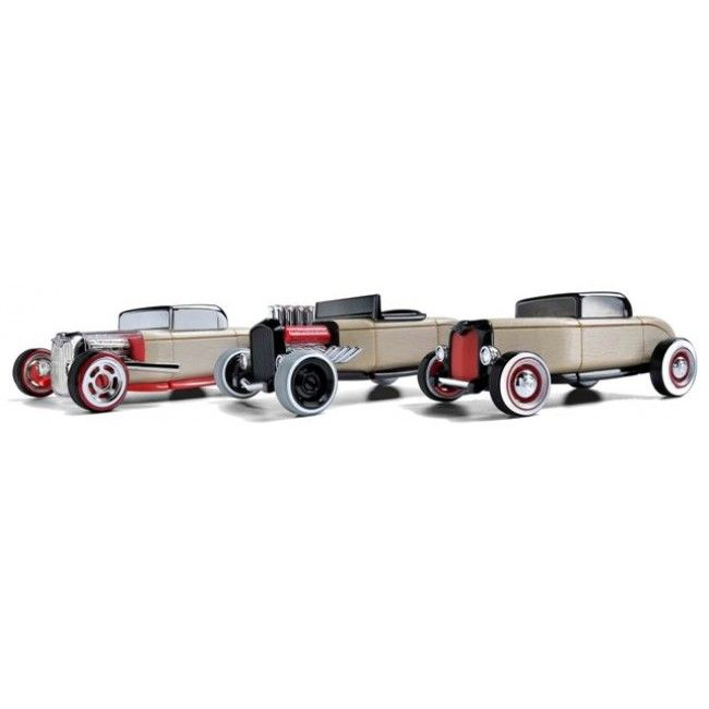 Car lovers... you need this! This set of high quality wooden mini hot rods are beautifully crafted and are so great for those who love to put things together and pull them apart. Children will love to help Dad put these together, and once done, you can play with them or put them on display around the house. Hope you're all ready to have a wonderful Father's Day!  http://www.entropy.com.au/automoblox-wooden-car-mini-hot-rods #fathersdaygifts #entropytoys #giftideas #hotrods #woodentoys