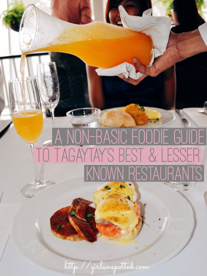 Tagaytay, Philippines: Your guide to the best lesser known restaurants