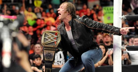 """The news got a little """"unstable"""" when Dean Ambrose dropped by """"Good Morning Acadiana"""" in Lafayette, La."""