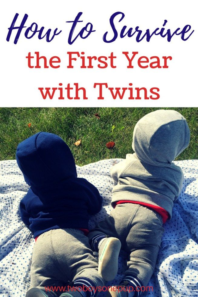 How to Survive the First Year with Twins • Two Boys One Pup Tips on how to make it through the first year as a new mom and/or a twin mom! You could consider these mom hacks! The first year is tough, but I promise, you will survive! Twins are truly a blessing!