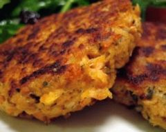 Tuna Patties Recipe - Kids food  just use rice flour, fodmap cheese or none & egg whites if you have egg problems