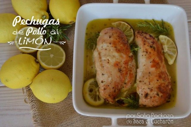 47 best recetas en espa ol images on pinterest salads - Pechugas de pollo al limon ...