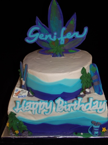 1000 Images About Marijuana Cakes On Pinterest