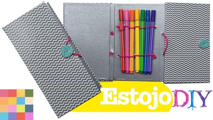 Estojo DIY | Material escolar criativo