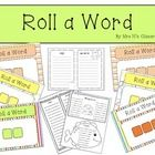 Free download  This is a fun way for students to practice blending vc and cvc words or even rhyming words.    You will need 3 dice and ...