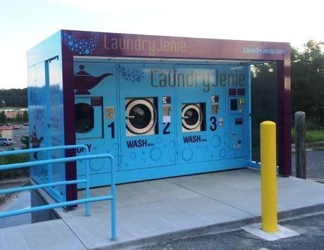 Outdoor Laundry Machine