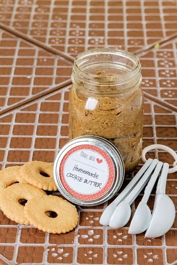 Homemade Cookie Butter (Makes two 500 ml jars) - Recipe on www.abs-cbnnews.com: http://www.abs-cbnnews.com/lifestyle/11/22/13/recipe-homemade-cookie-butter