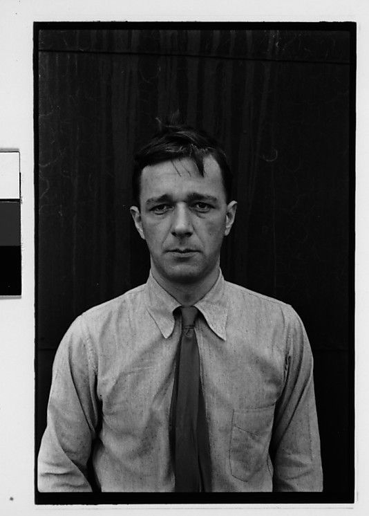 "Walker Evans (1903 - 1975) was an American photographer best known for his work for the Farm Security Administration documenting Great Depression effects. Much of Evans's work from the FSA period uses the large-format, 8x10-inch camera. He said that his goal as a photographer was to make pictures that are ""literate, authoritative, transcendent""."