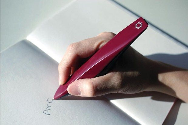 Pen for Parkinson's makes writing easy again (Wired UK)