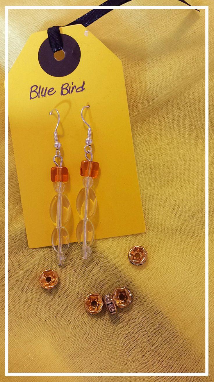 Pretty quartz earrings by BlueBirdjewel on Etsy