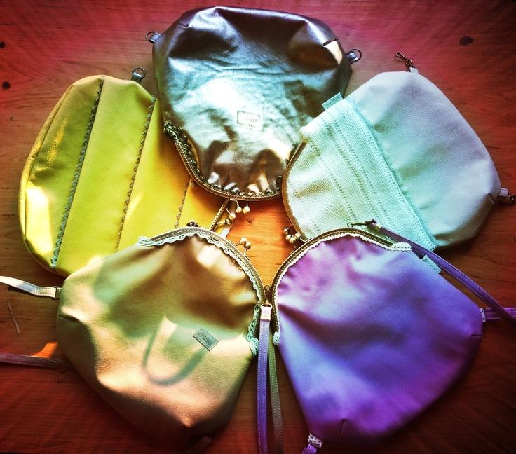 Handmade romantic unique backpacks