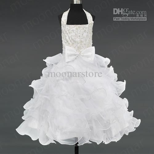 Wholesale Kids Pageant Bridesmaid Dance Party Princess Ball Dress Girls Gowns Formal Dress LF074, Free shipping, $44.34-51.35/Piece   DHgate