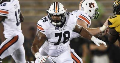 Injured Auburn offensive lineman returns to starting lineup vs. Georgia
