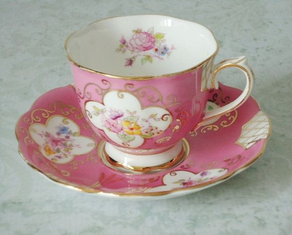 vintage tea cups and saucers - Google Search