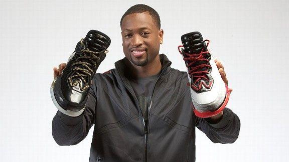 Dwyane Wade Li-Ning shoes...