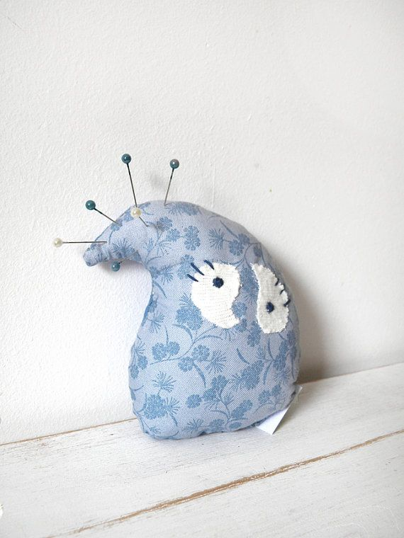 DropBaby blue toy dollpincushioncat toy by coccinellina on Etsy, $9.00