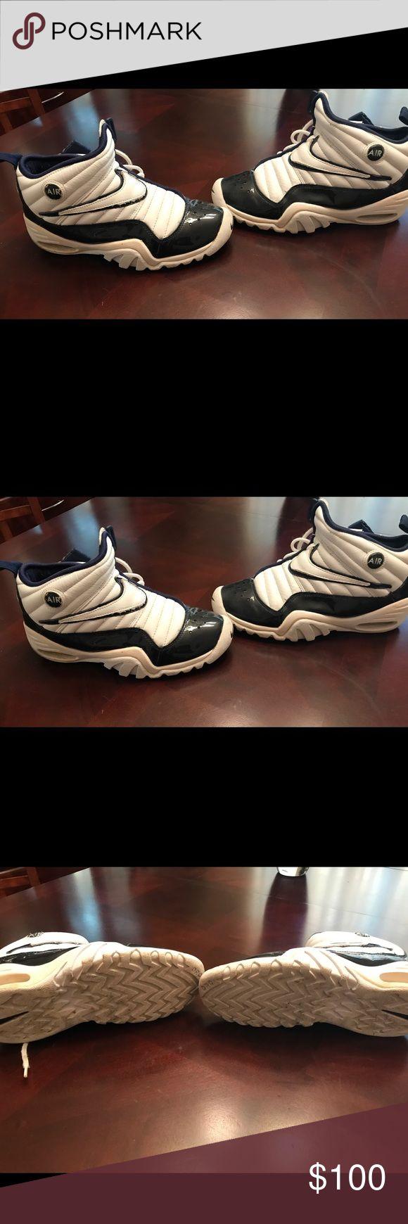 Nike Air Shake Ndestrukt Dennis Rodman Nike Air Shake Ndestrukt Dennis Rodman Original fair condition Nike Shoes Athletic Shoes