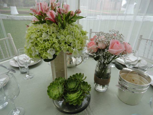 centros de mesa vintage innovando wedding stuff On arreglos vintage para boda