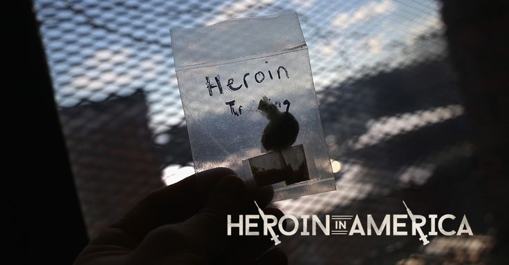 """""""Heroin affects every aspect of our communities. It ties into the fabric of our city."""""""