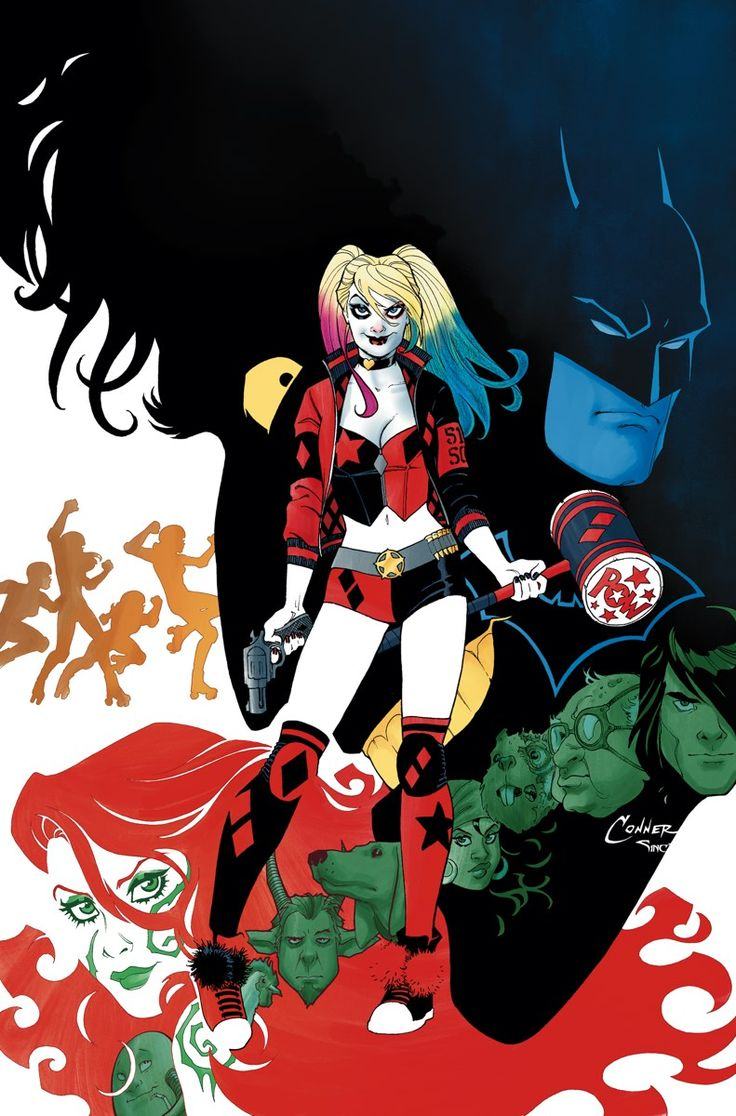 HARLEY QUINN #1 Written by AMANDA CONNER and JIMMY PALMIOTTI • Art by CHAD HARDIN • Covers by AMANDA CONNER