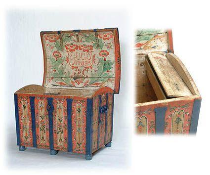 Decorative chest, 1813.