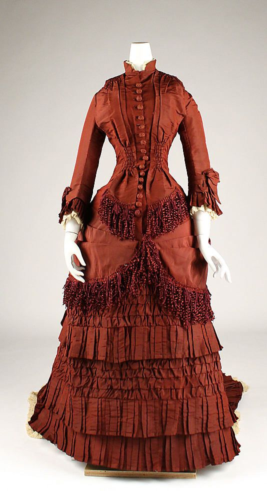 Dress. 1879, American.  Meg.   http://www.metmuseum.org/collections/search-the-collections/80035780?img=0